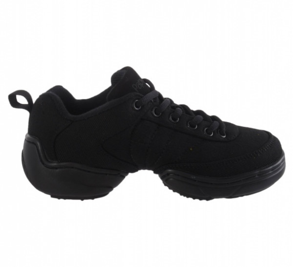 Dance Sneakers Splitzool Ladies Low Model Black Size 38