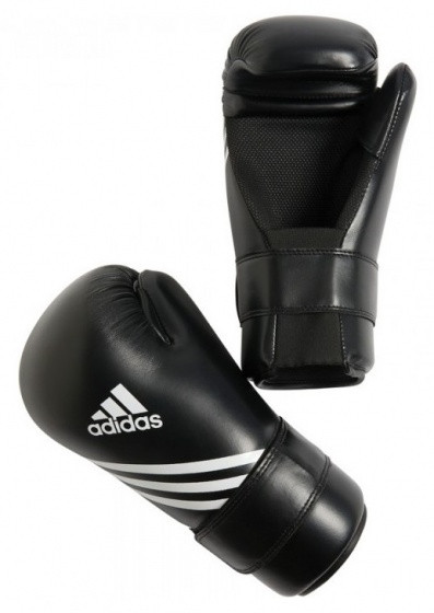 Boxing Gloves Semi Contact Black Size Xs