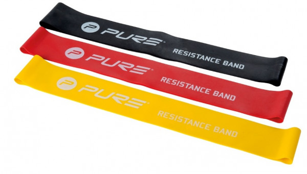 Resistance Bands Yellow / Red / Black 3 Pieces