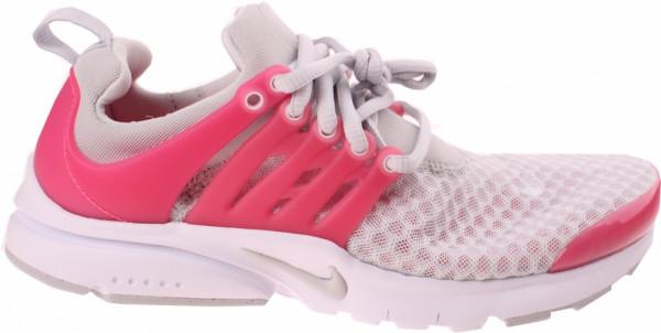 Presto Breathe Gs Ladies Sneakers Gray / Pink Size 38.5