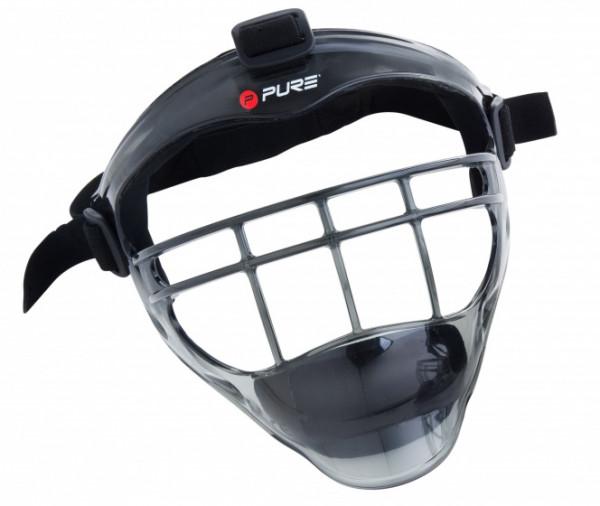Baseball Face Mask Unisex Gray / Black