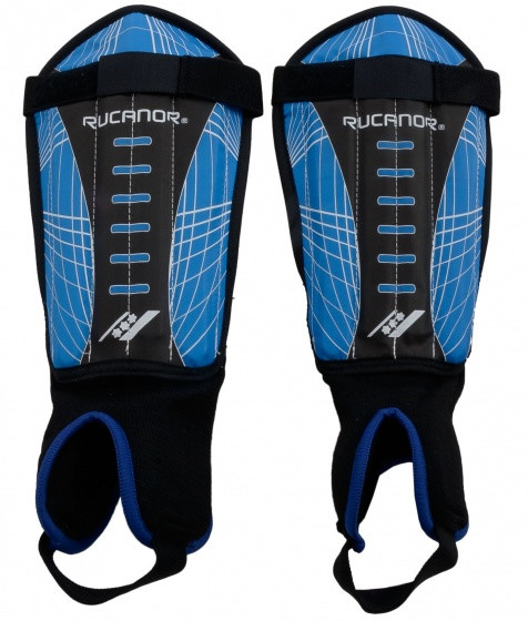 Shinguards Free Kick Blue / Black Size S