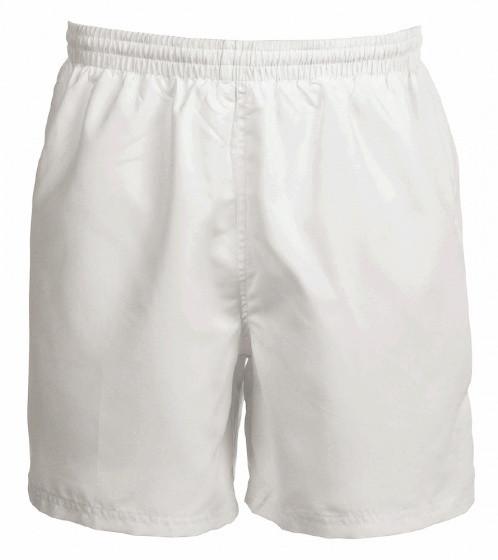 Custer Shorts Unisex White Size S