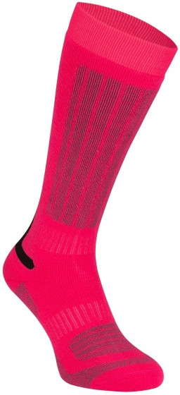 Ski Socks Fernie Junior Fuchsia Per 2 Pairs Mt 27/30