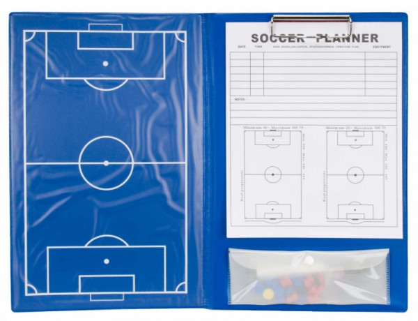 Coachmap Football Magnetic 36 cm Blue