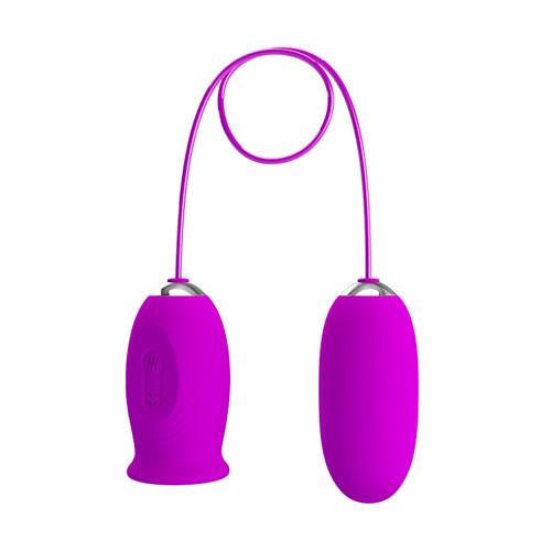 Daisy Vibro Egg - Purple