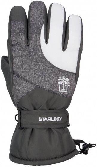 Ski Gloves Taslan Jack Anthracite Size 10 / Xl