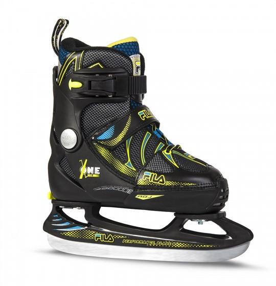 Ice Hockey Skates X One Ice Boy Boys Black Size 29-32