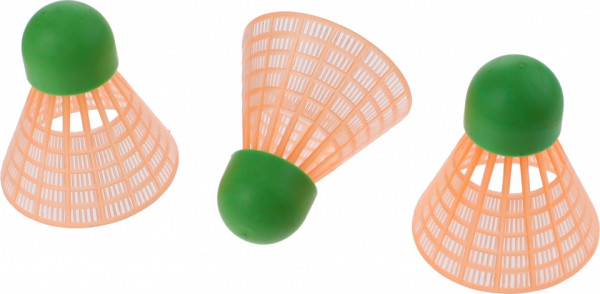 Badminton Shuttlecocks Speed Green 3 Pieces
