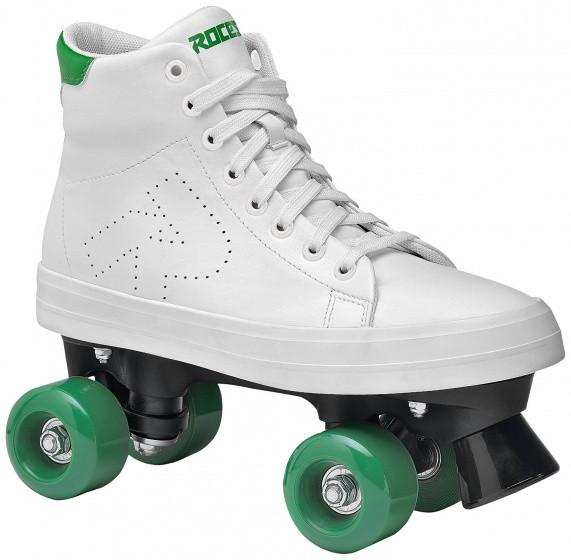 Ace Roller Skates Ladies White / Green Size 36