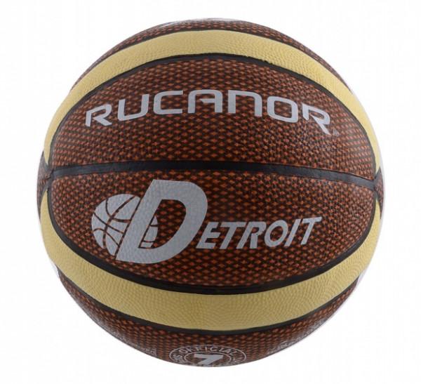 Basketball Detroit Orange Size 7