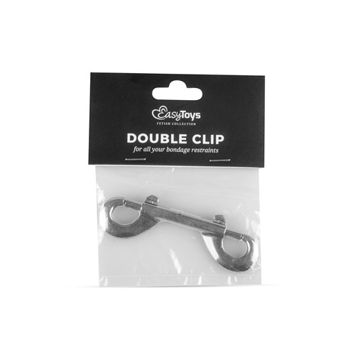 Double Clip - Silver