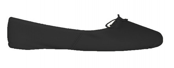 Black Ballet Shoe Size 39.5
