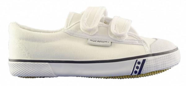 Gym Shoes Frankfurt Girls White Size 34