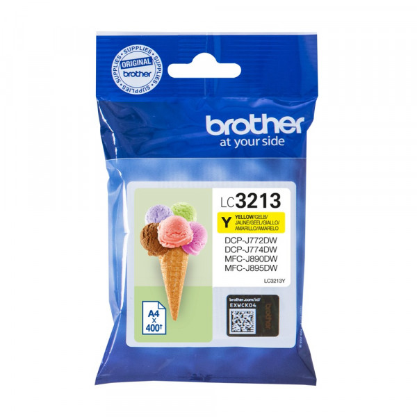 Tinte Brother Lc3213y Yellow Hc