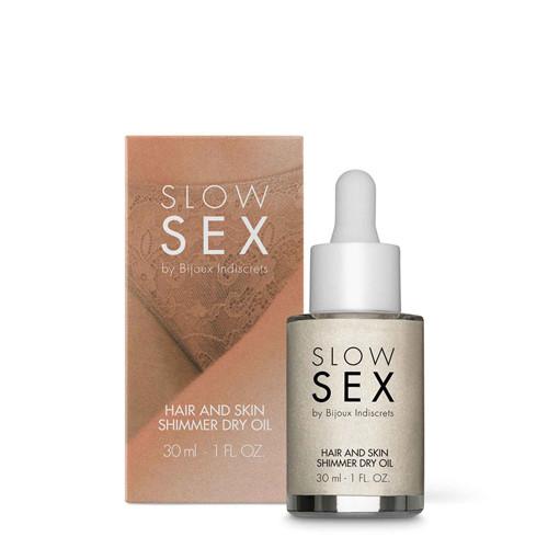 Hair And Skin Shimmer Dry Oil - 30 ml