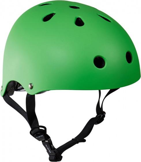 Skate Helmet Essentials Mat Green Size 57/59 cm