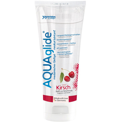 AQUAglide Cherry Lubricant - 100 ml