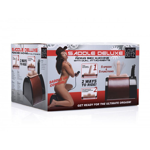 Saddle Deluxe Sex Machine