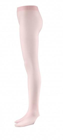 Tights Convertible Pink Microfiber Ladies Size L