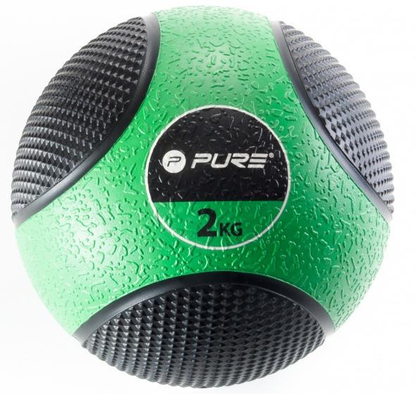 Medicine Ball 2 Kg Green / Black