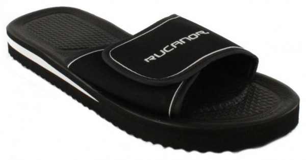 Slippers Santander Unisex Black Size 48