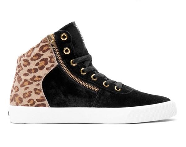 Sneakers Cuttler Ladies Black/Brown Size 36