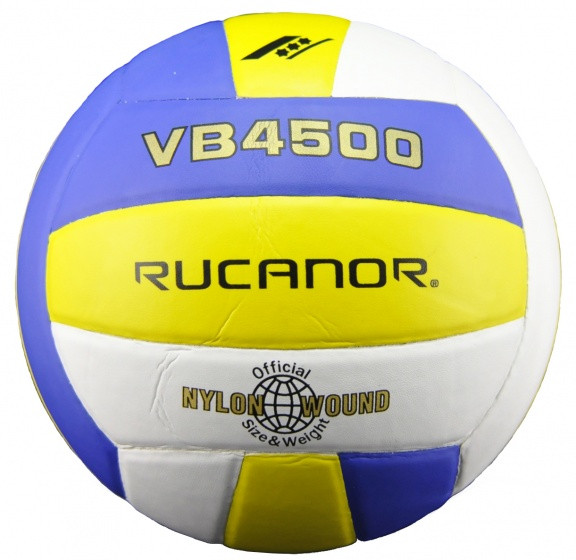 Volleyball Vb4500 Yellow/Blue/White Size 5