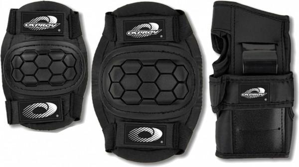 Protection Set Junior Black 6-Piece Size L