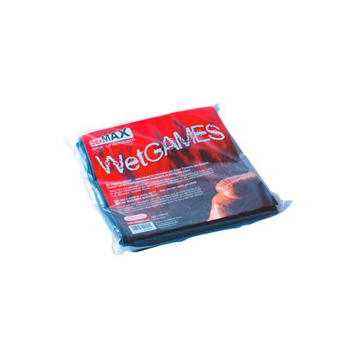 SexMAX WetGAMES Vinyl Sheet 180 x 220 cm - Black