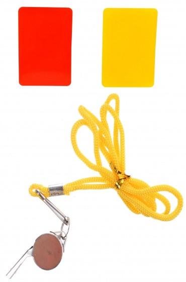 Referee Set Yellow 3-Piece