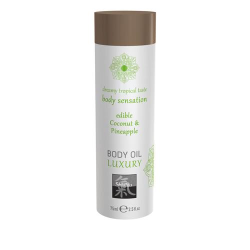 Luxury Body Oil Edible - Coconut & Pineapple