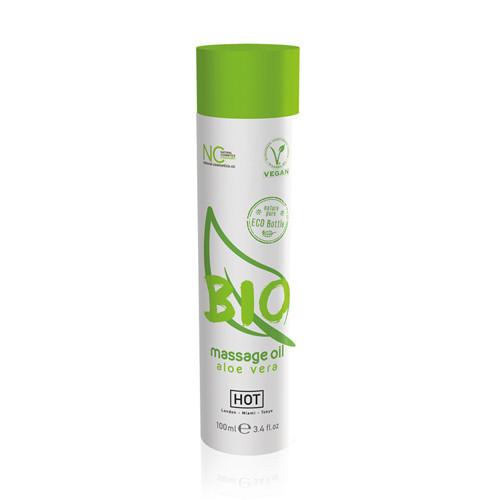 HOT BIO Massage oil Aloe Vera - 100 m