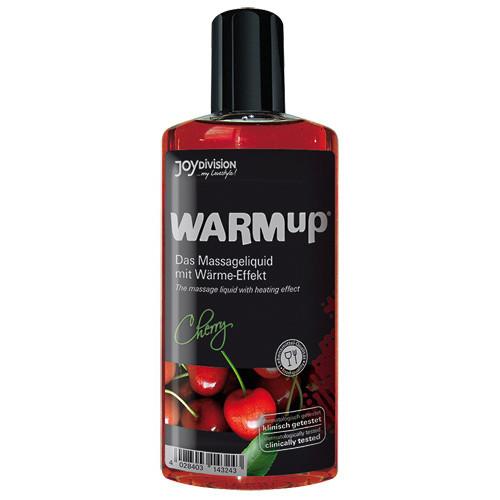 Warm-up massageöl kirsche