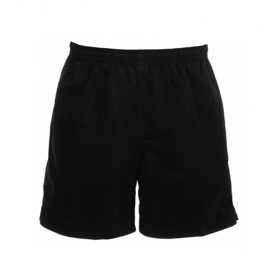 Custer Shorts Unisex Black Size S