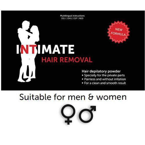 Intimate hair removal enthaarungspulver