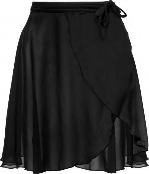 Sport Skirt Long Ladies Black Size L / Xl