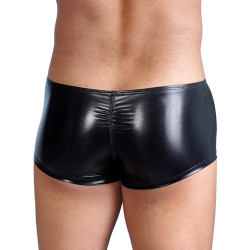 Wet look Men's Zippered Boxers