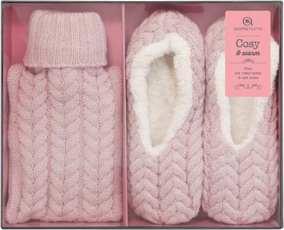Sofaset With Slippers And Jug Ladies Pink Size 37-41
