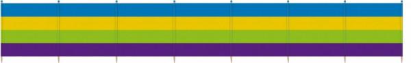 Windscreen 8 Poles 120 X 462 cm