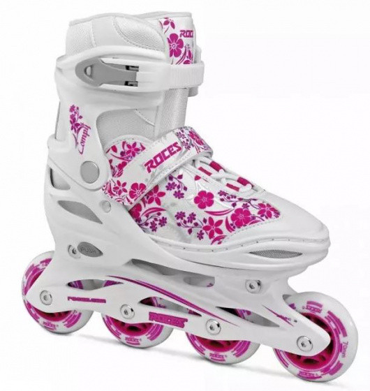 Inline Skates Compy 8.0 Girls White / Pink Size 30-33
