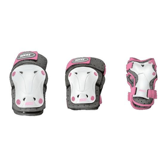 Skate Protection Set Ventilatie Junior White Mt M 6-Piece