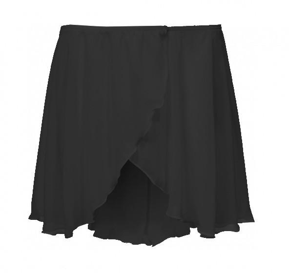 Ballet Skirt Short Ladies Black Size S