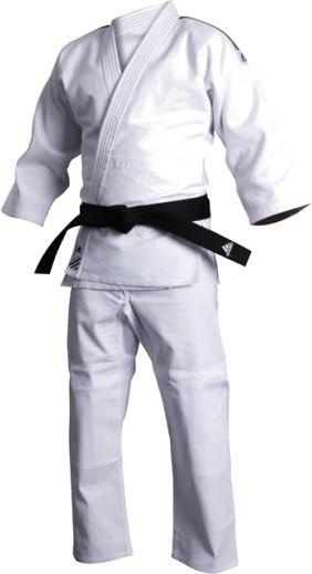 Judo Suit 500w 180 cm White / Black
