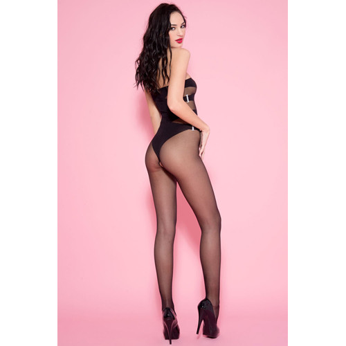 Crotchless Catsuit With Body Look