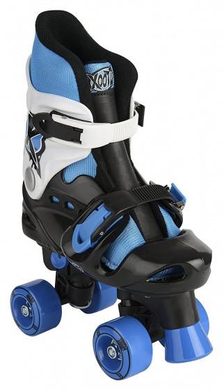 Quad Skates Skate Boys Black / Blue Mt 32/36