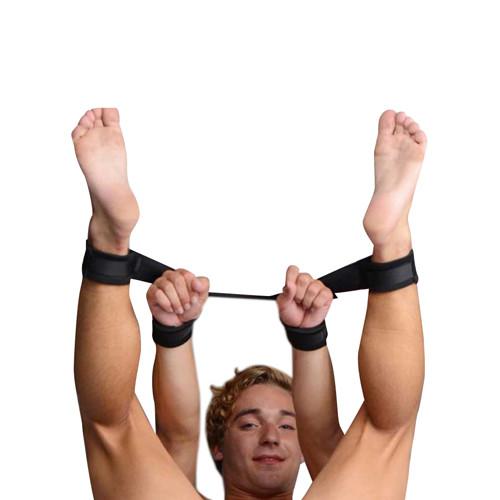 4 Cuff Adjustable Hog Tie Restraint Strap