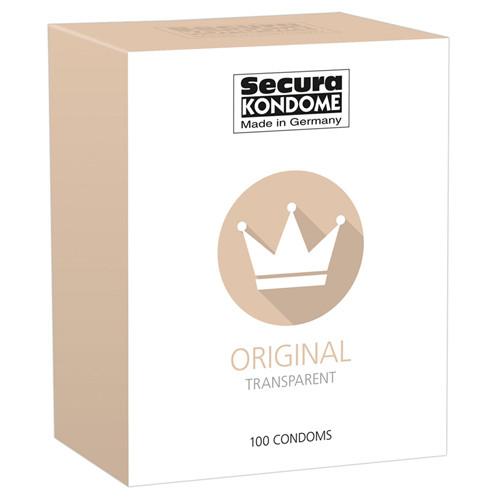 Secura Original Condoms - 100 pcs