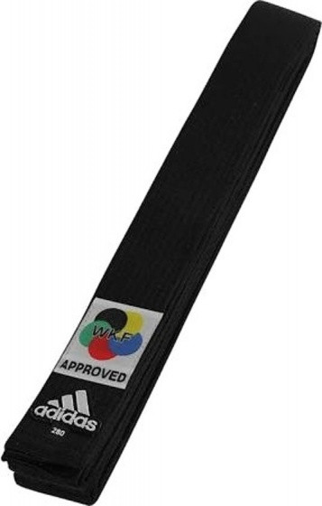 Karateband Elite Wkf Logo Black Size 260 cm