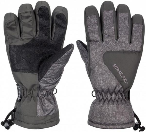 Ski Gloves Taslan Riva Jr Gray Size 5,5 / 152
